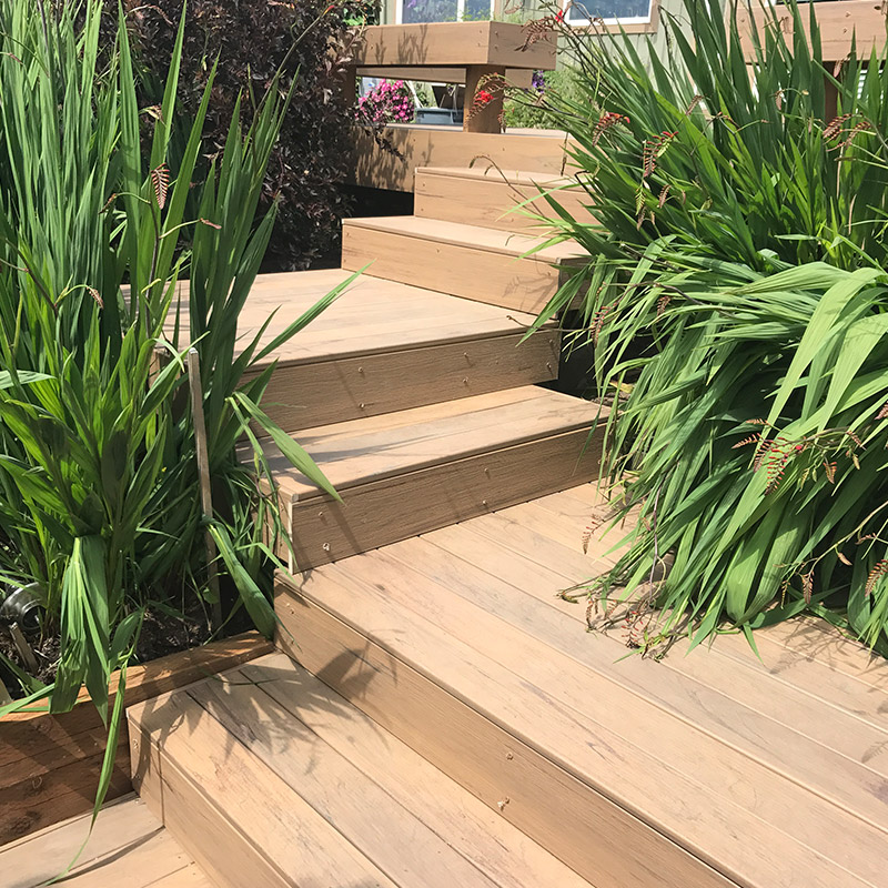 a-plus-fence-company-wood-stairs